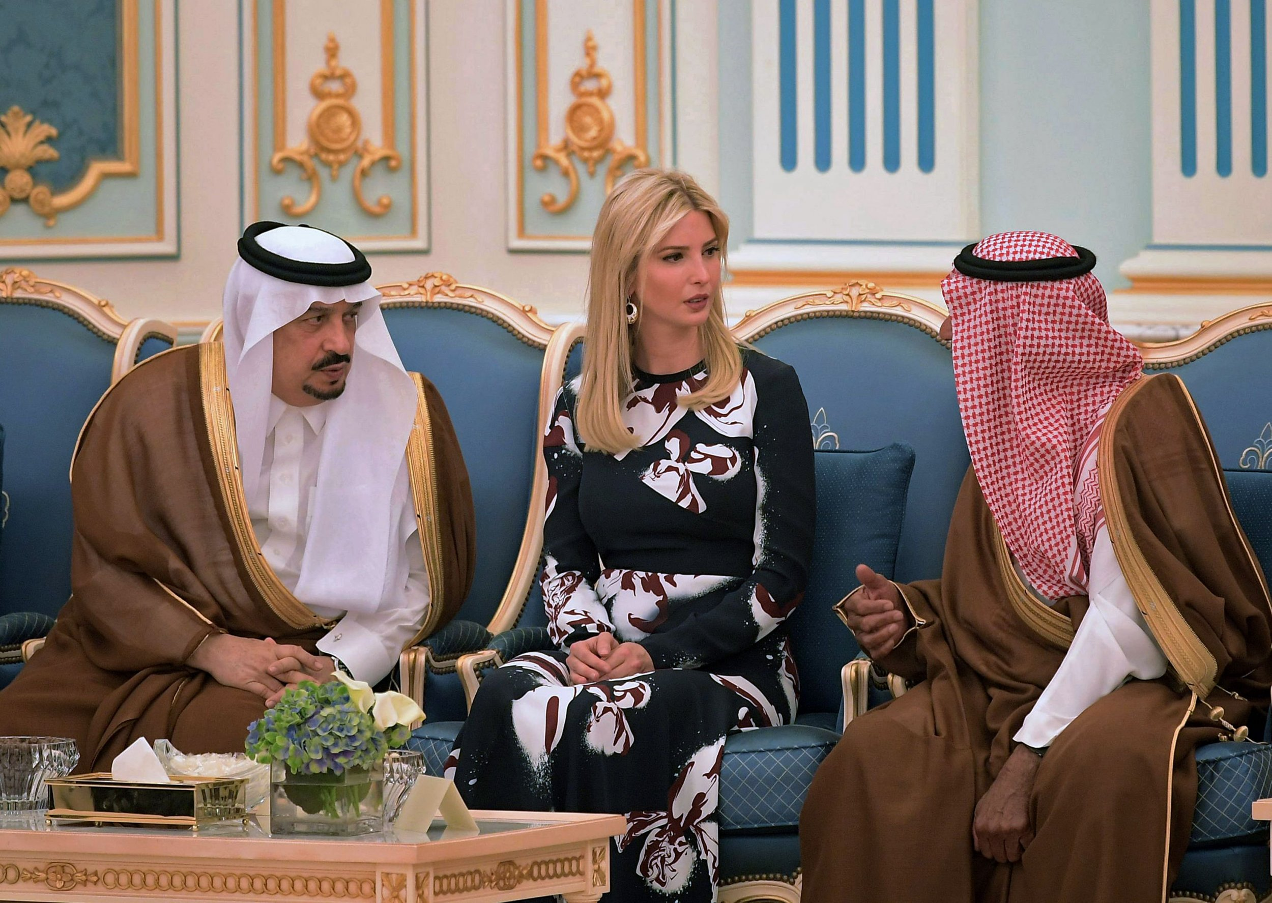 Ivanka Trump in Saudi Arabia