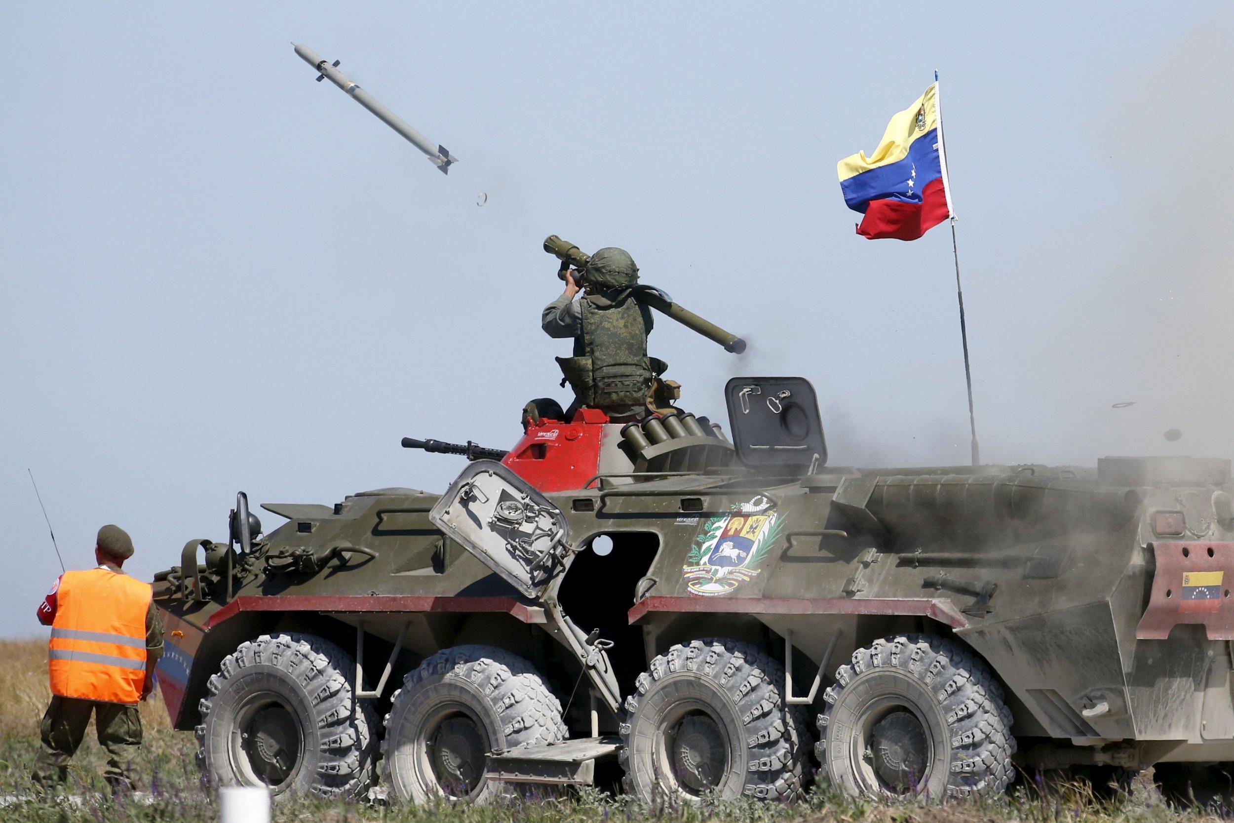 Anti-aircraft missile in Venezuela