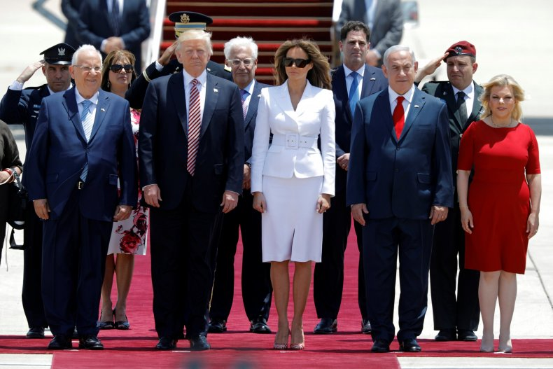Donald Trump in Israel