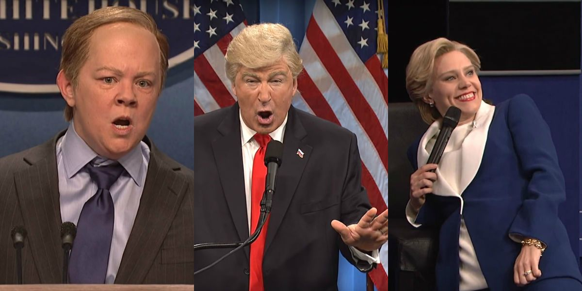 Saturday Night Live - Trump, Spicer and Clinton