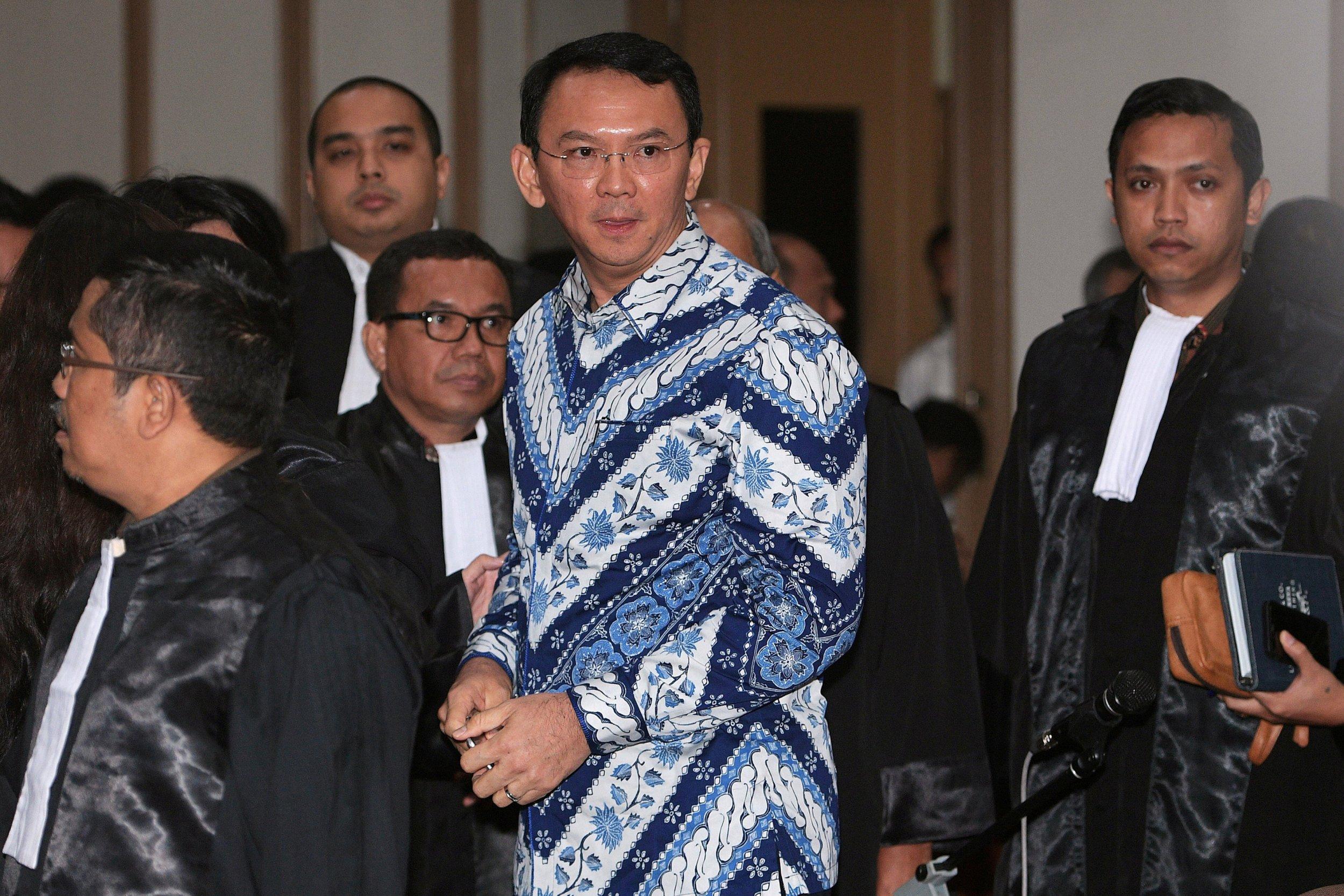 Jakarta former governor Ahok