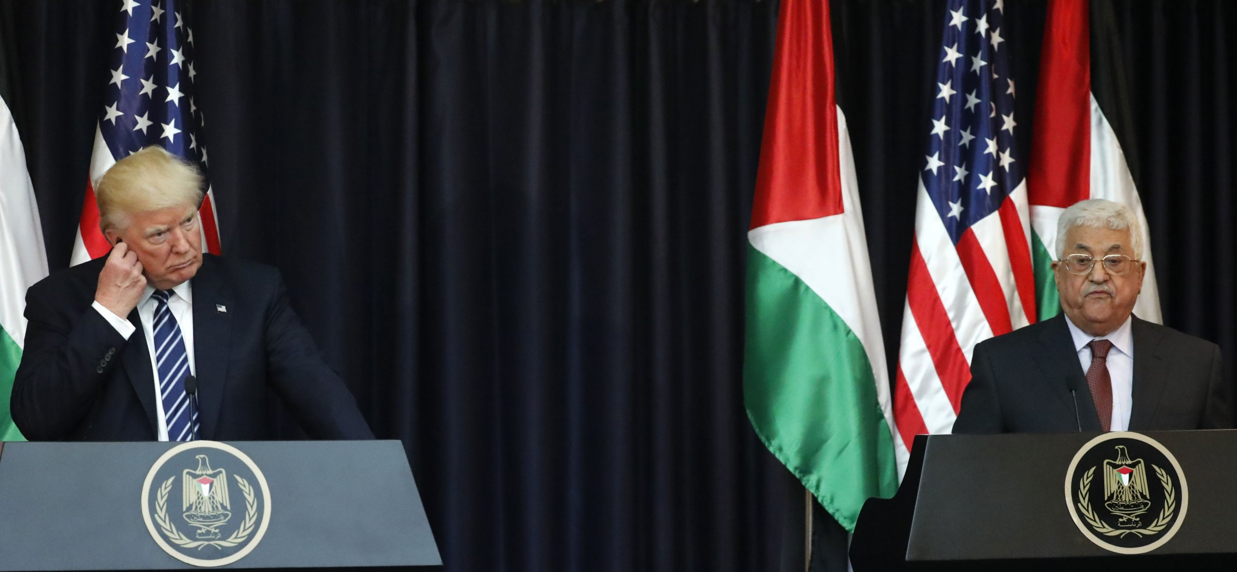 President Trump and President Abbas