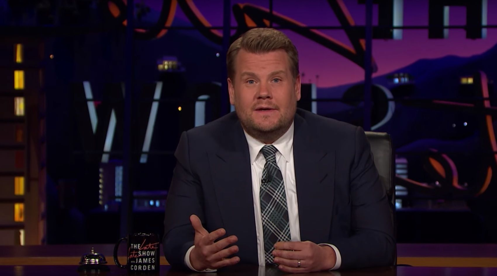 James Corden speaks about Manchester attack