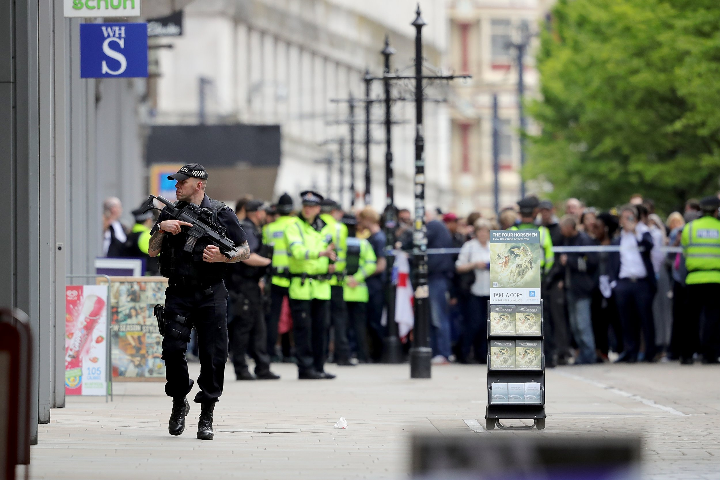 Manchester aftermath