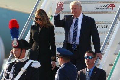 Trump in Rome