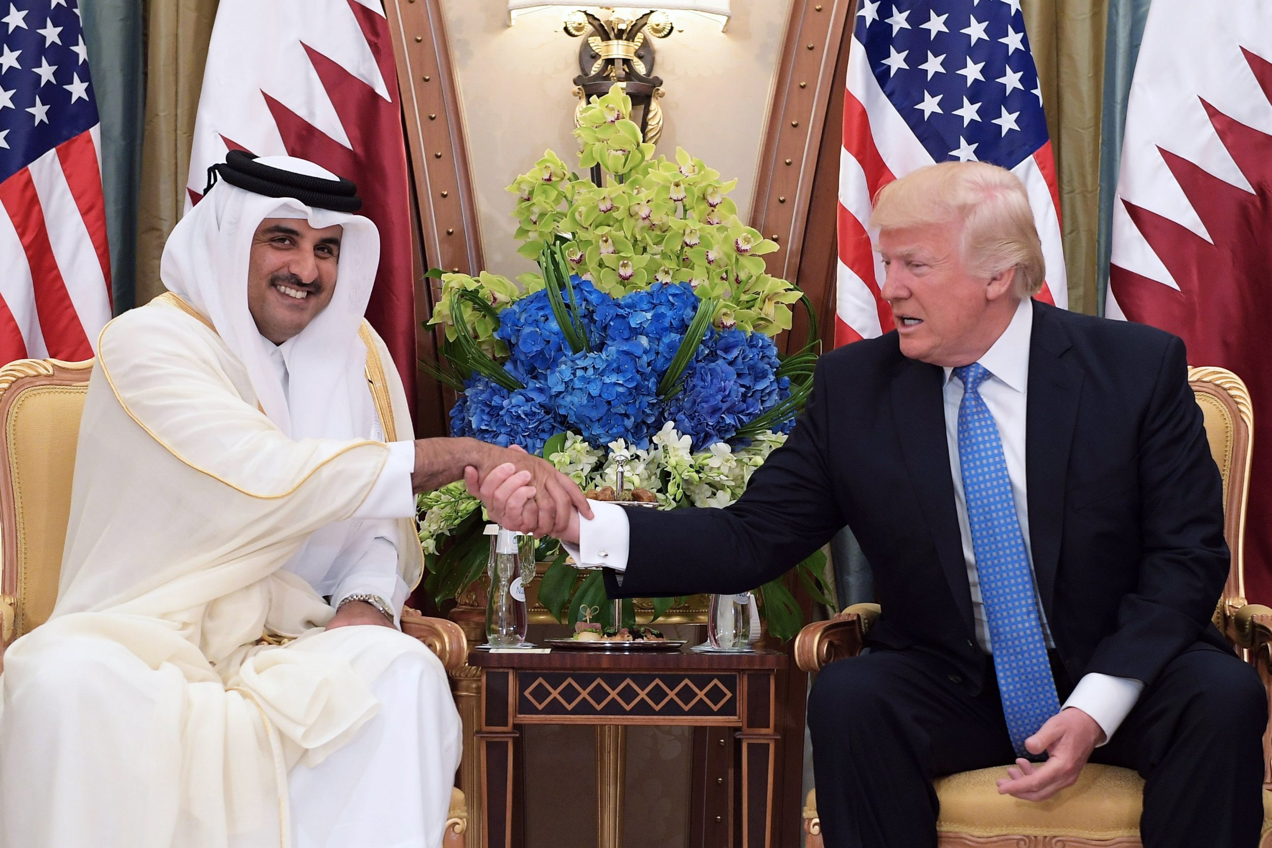Al-Thani and Trump