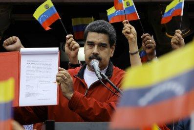 Venezuela's Nicolas Maduro