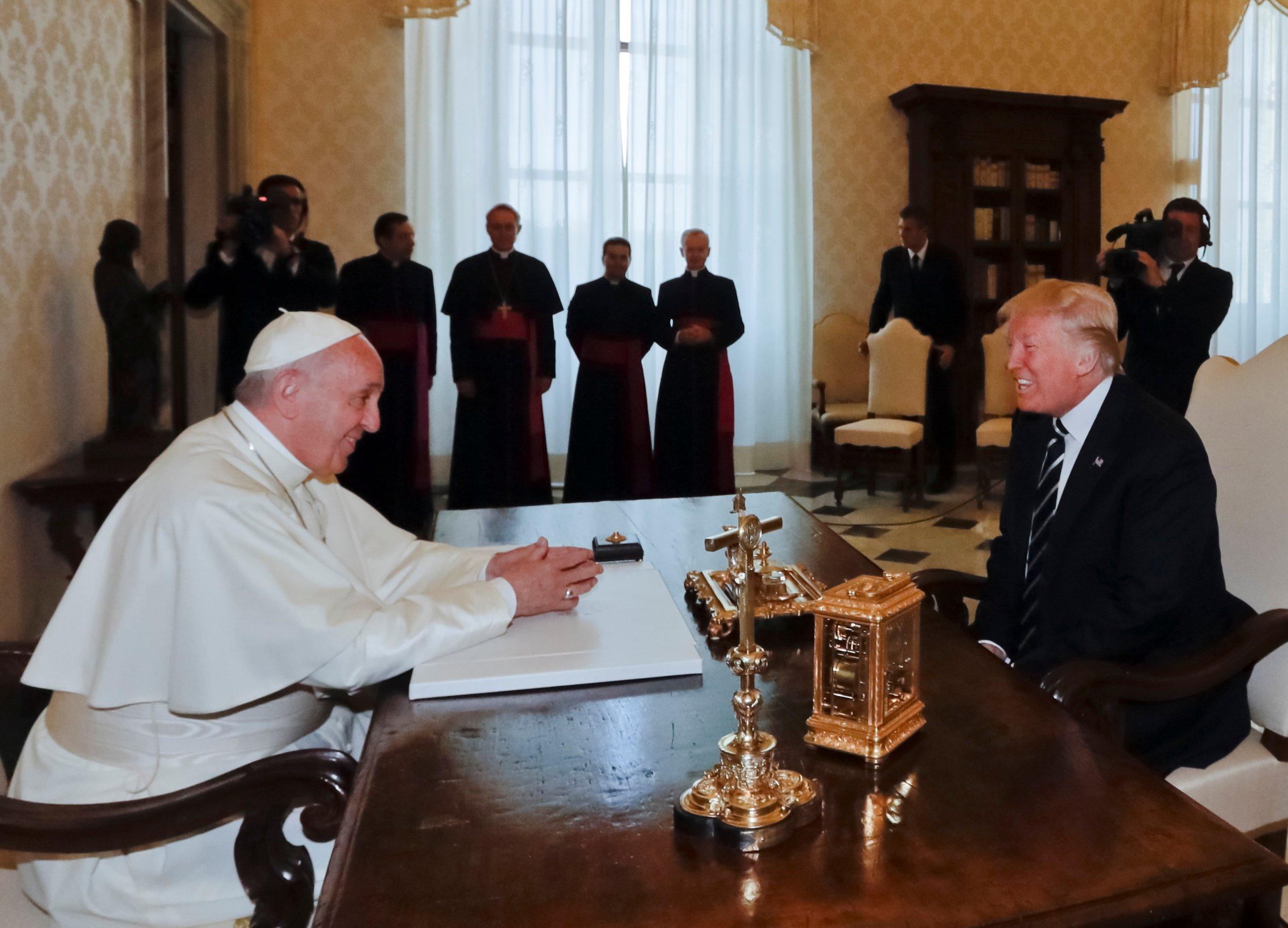 Image result for Catholic Journal Attacks Trump