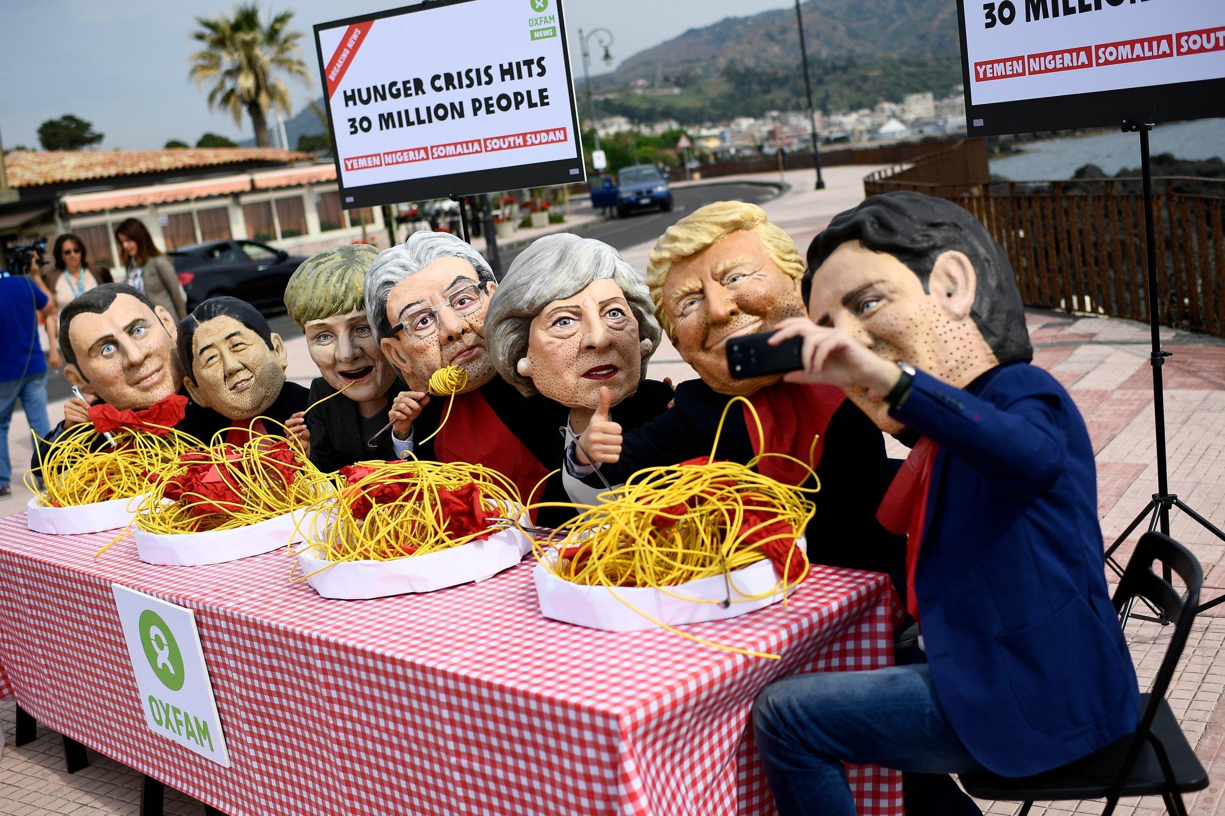 Mockery of G7 leaders