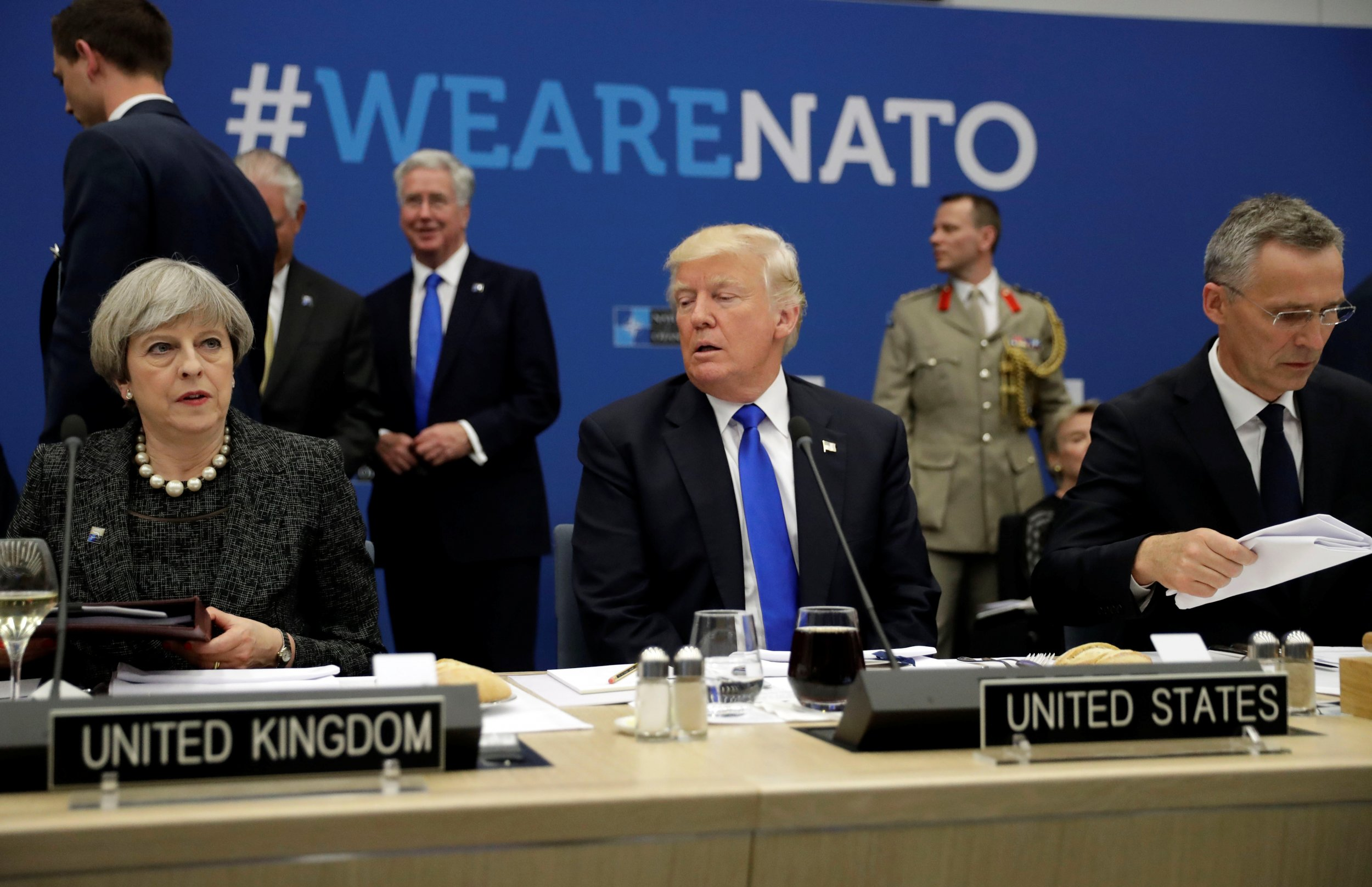 Trump to NATO: Pay Up and Fight ISIS