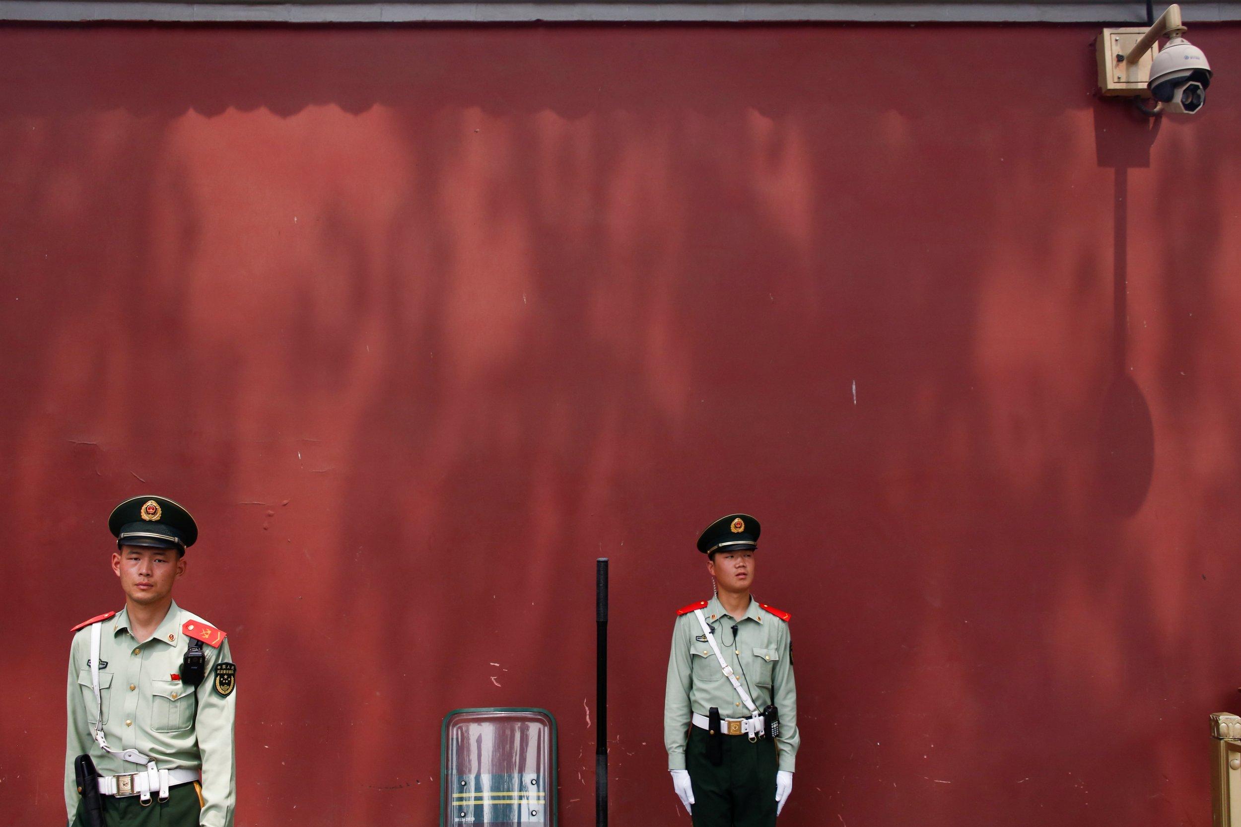 Police in Beijing