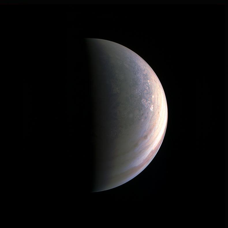 Jupiter north pole