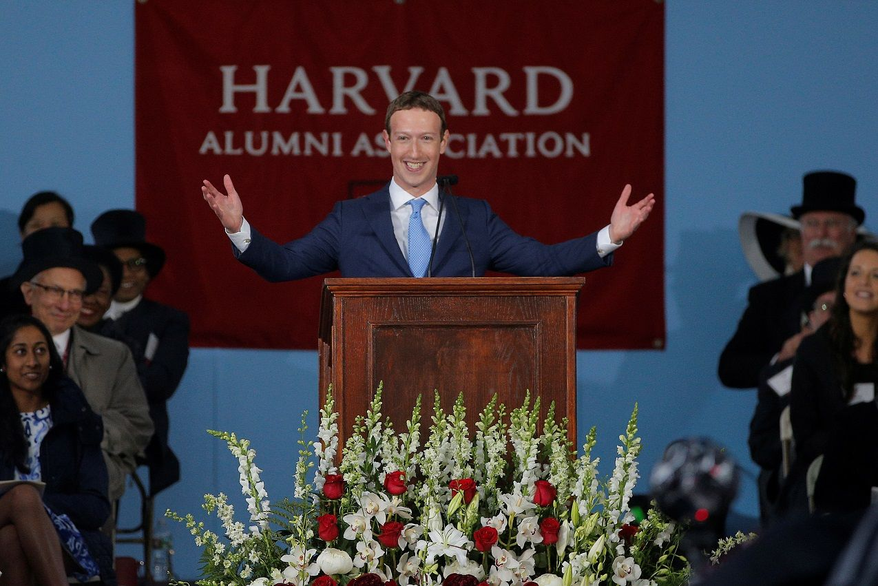 zuckerberg harvard speech