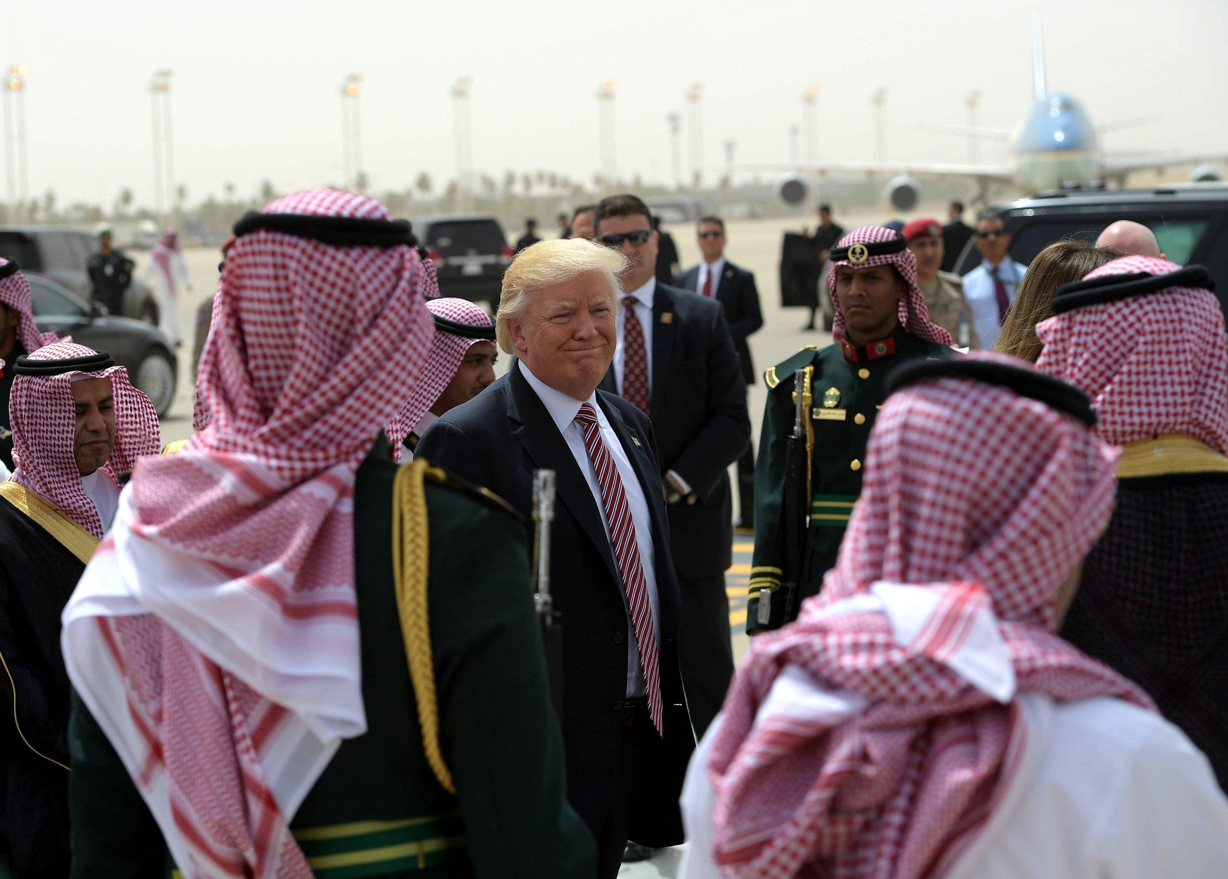 Trump in Saudi