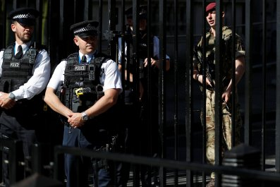 British police, soldier, manchester bombing