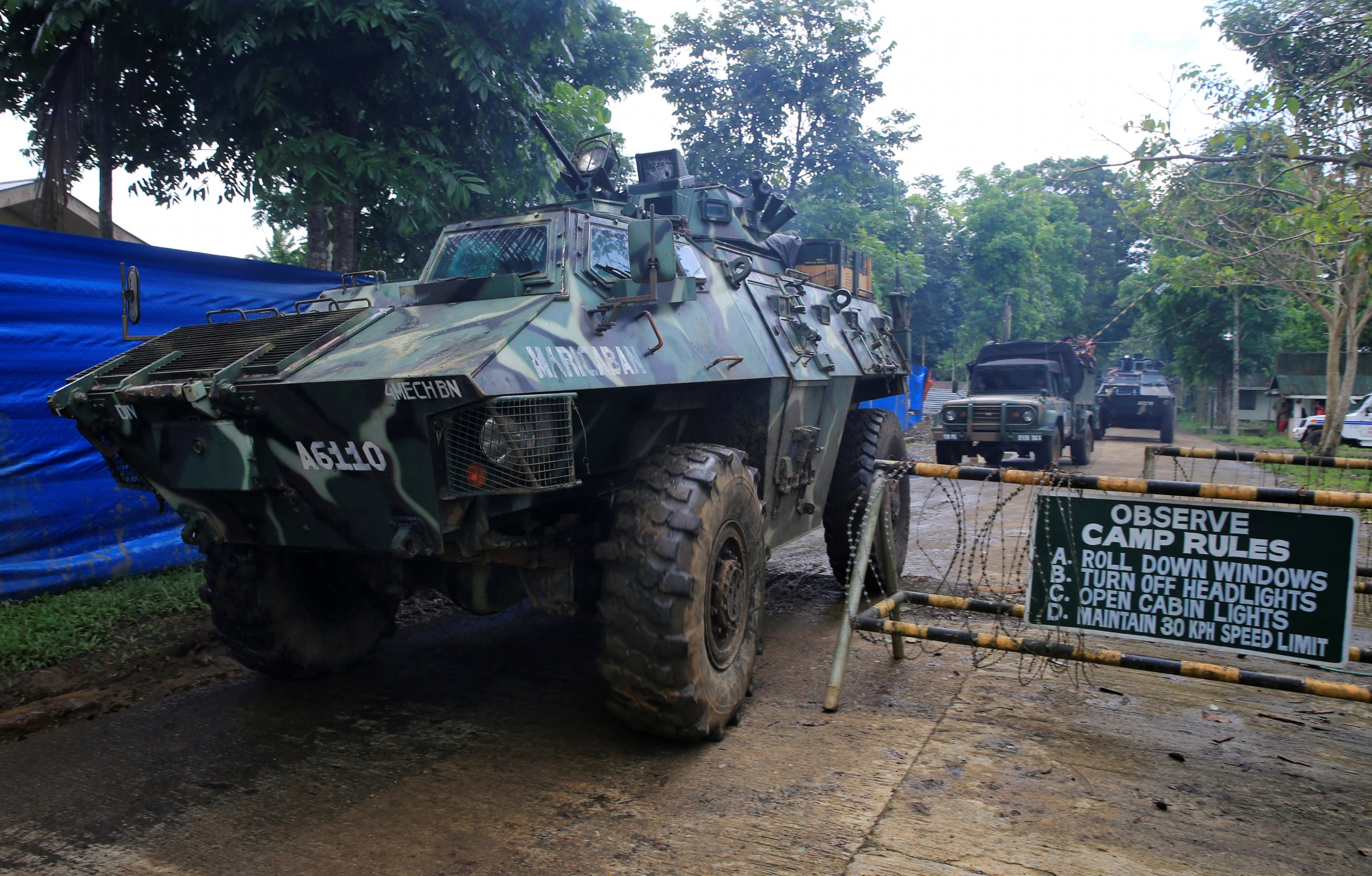 Troops in Marawi