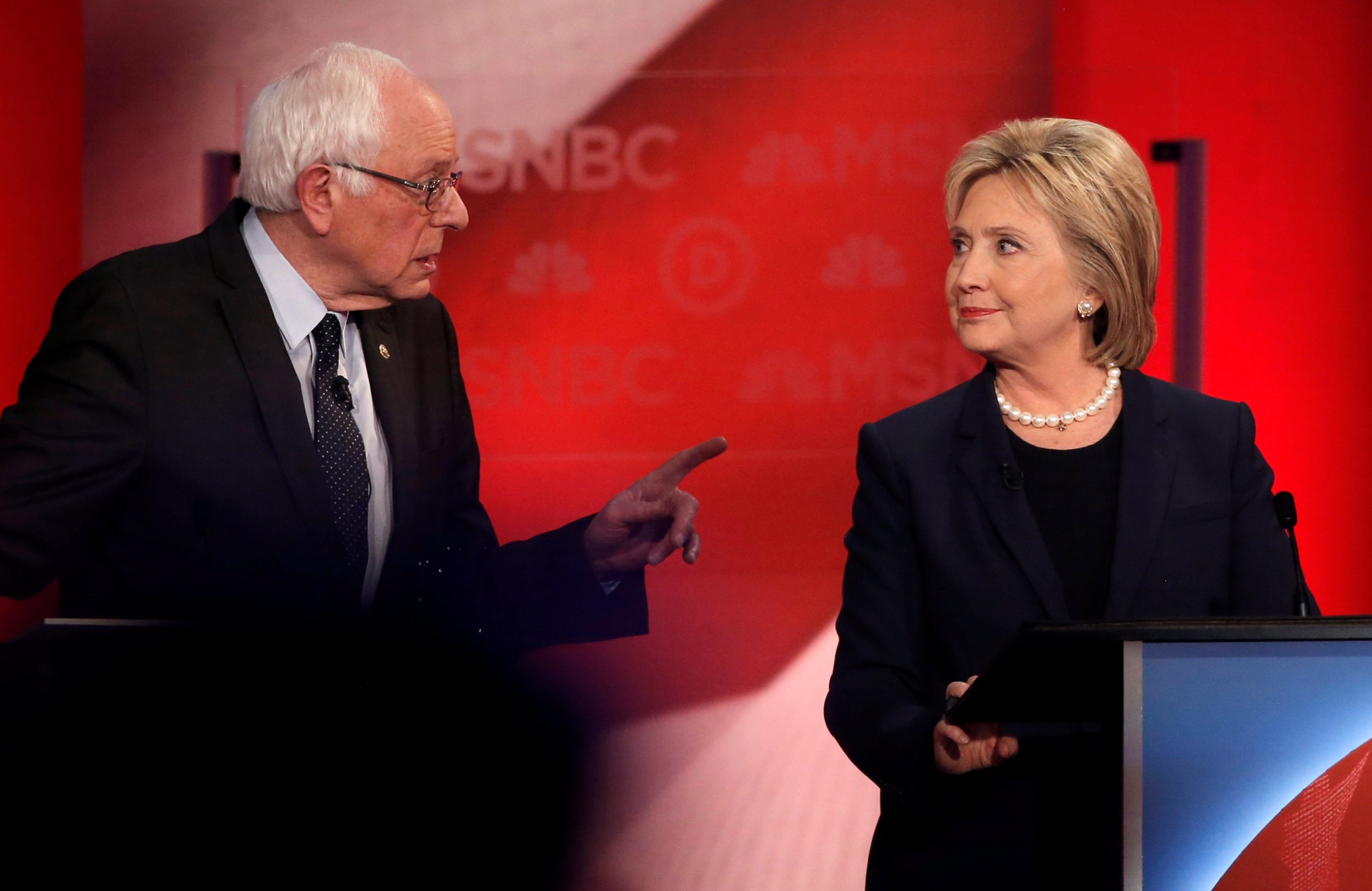 hillary clinton supporters filed a complaint against bernie sanders