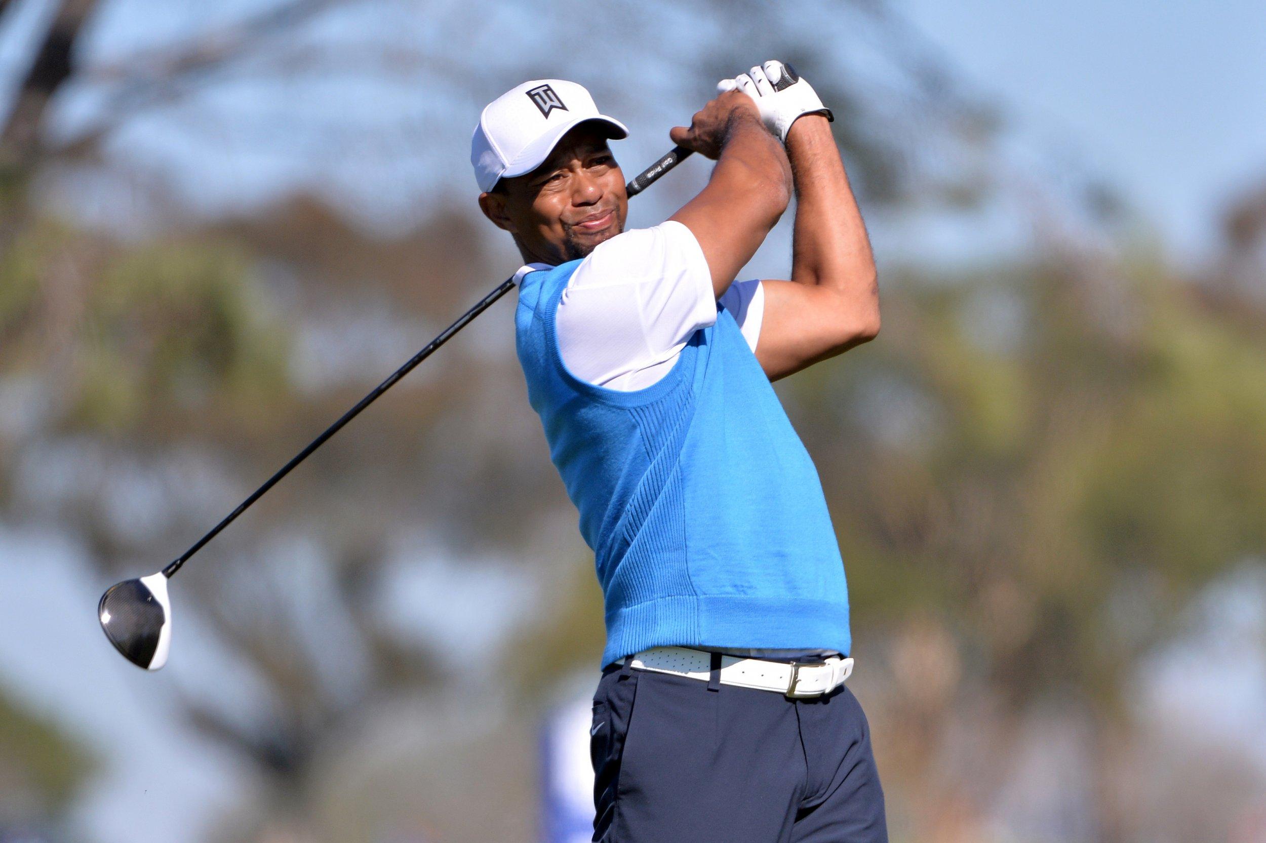 Former world number one golfer Tiger Woods.