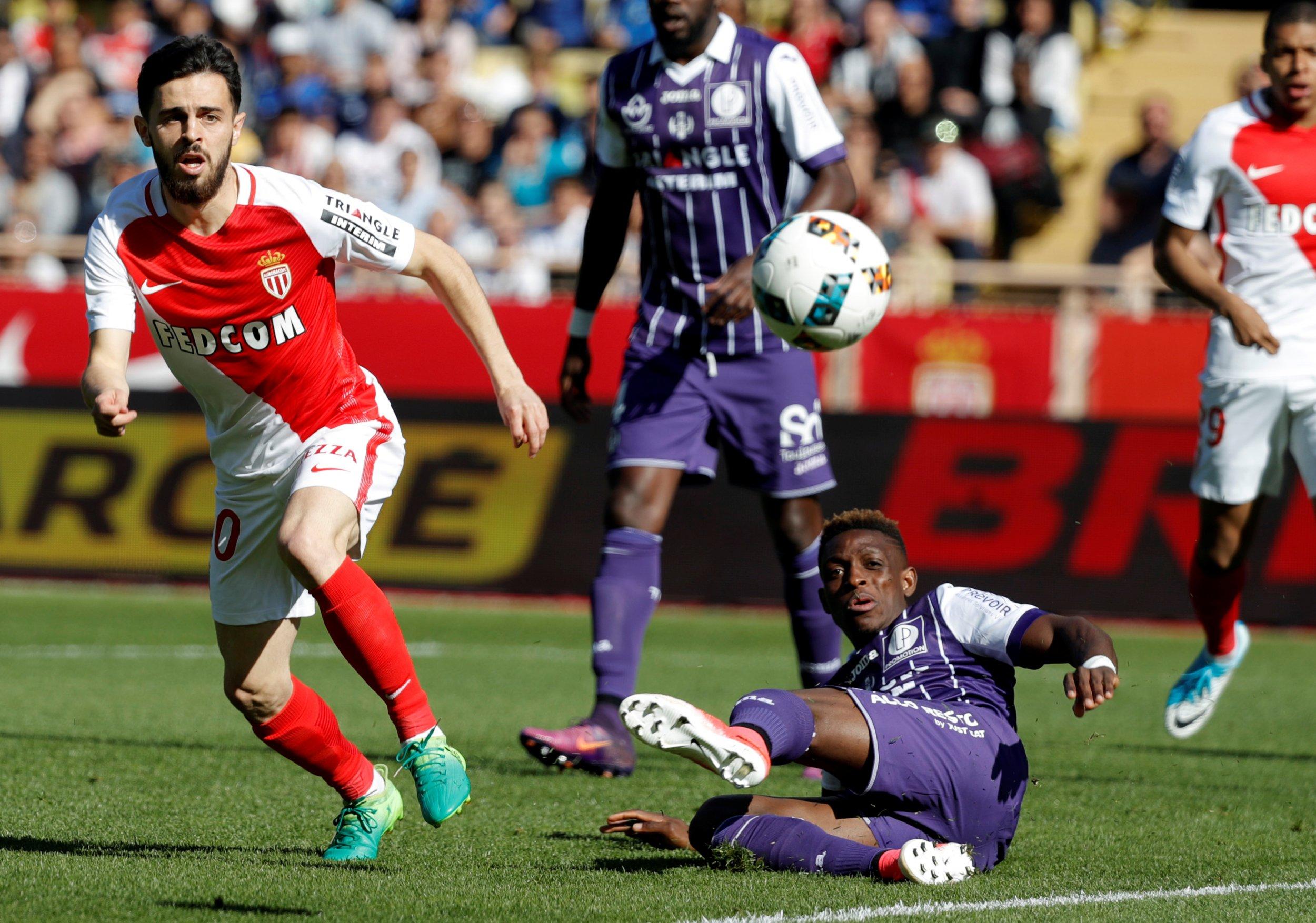 Former A.S. Monaco, now Manchester City, winger Bernardo Silva.
