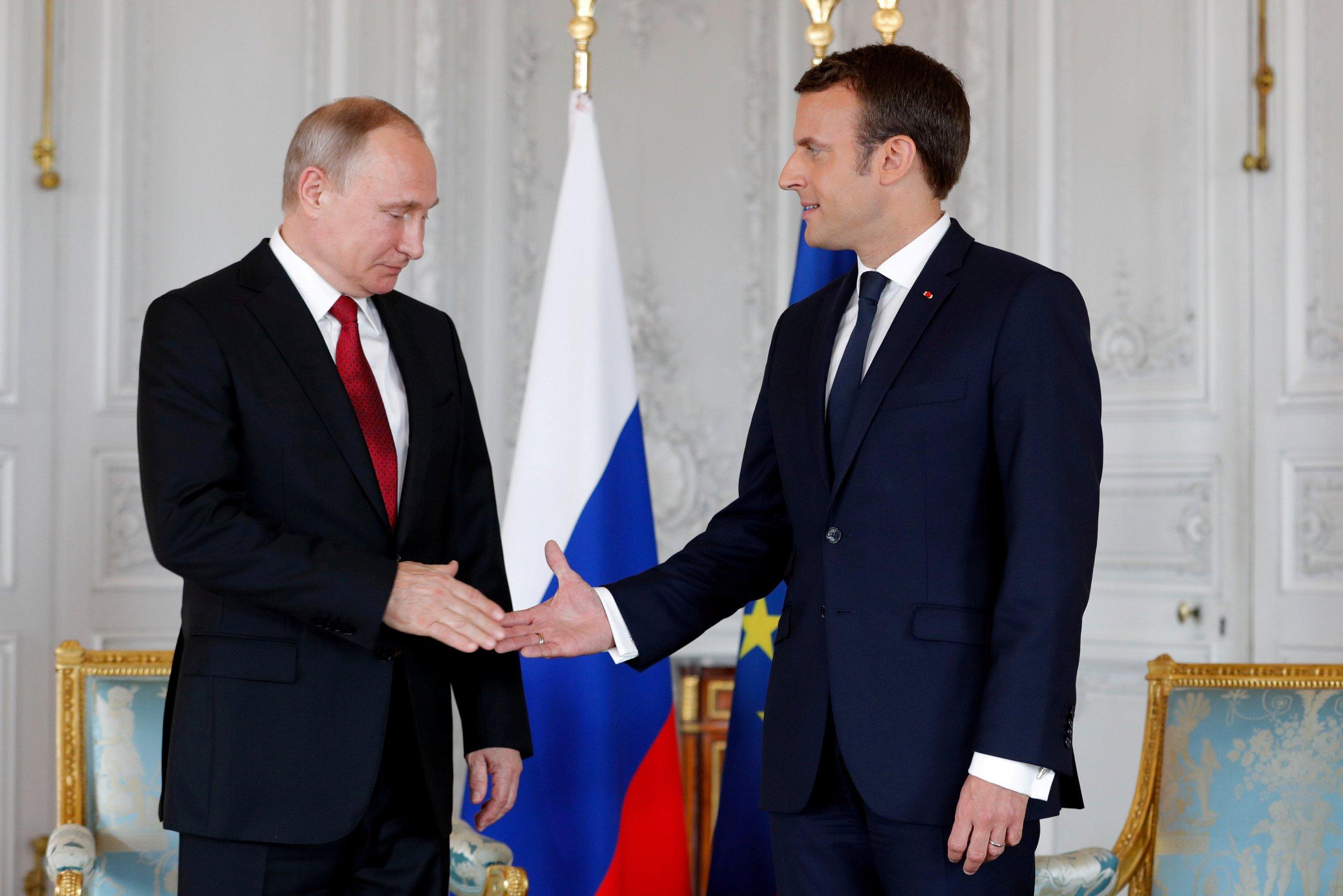 Putin and Macron