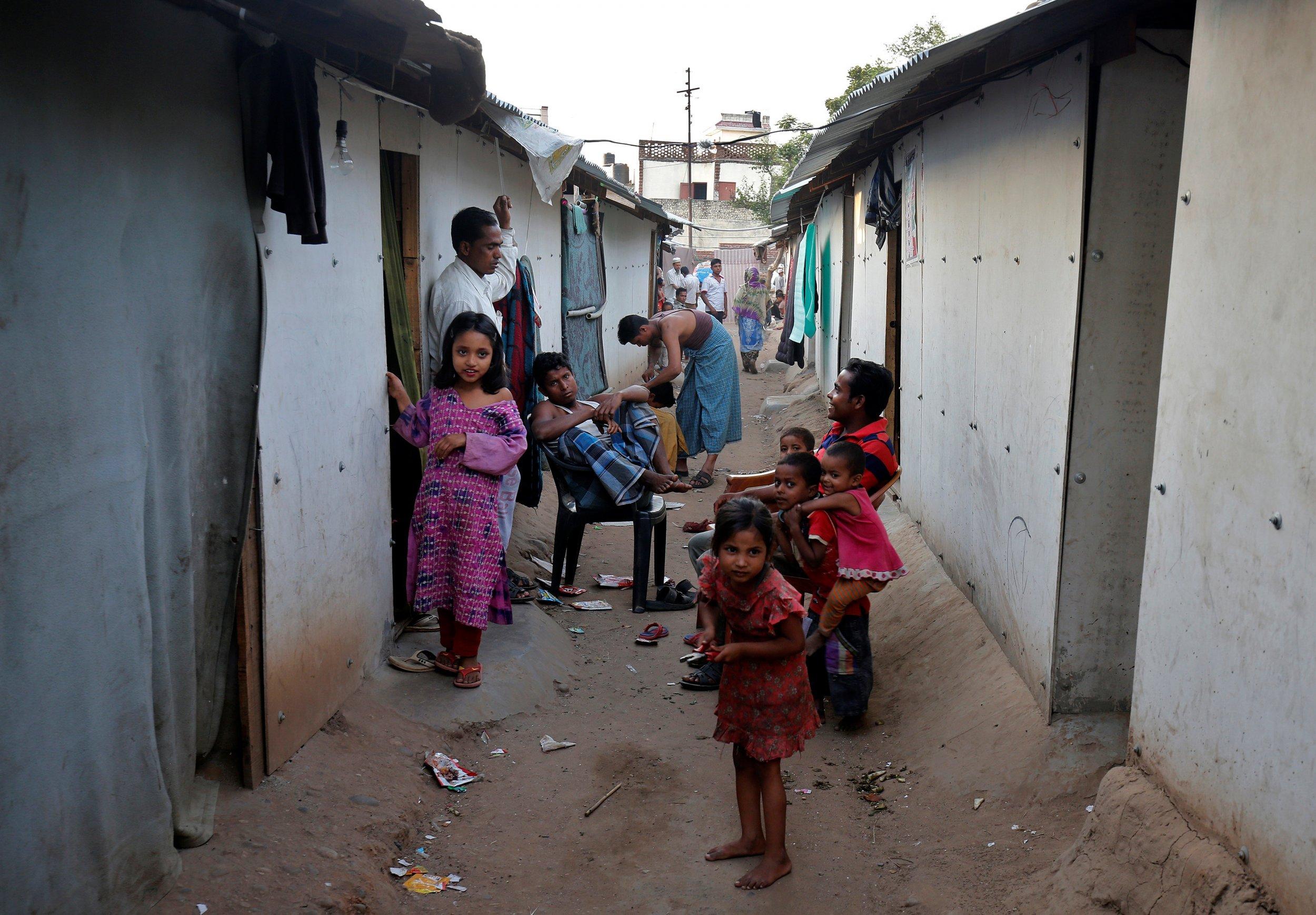Children in Cox' bazaar