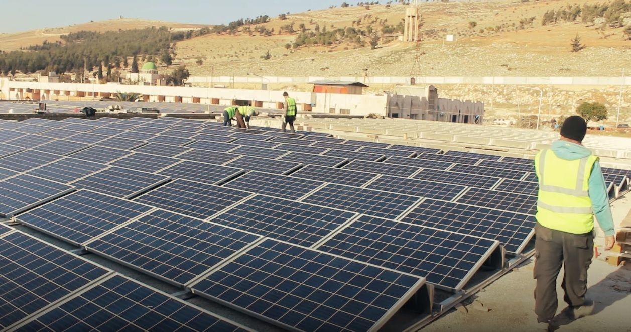syria solar powered hospitals uossm