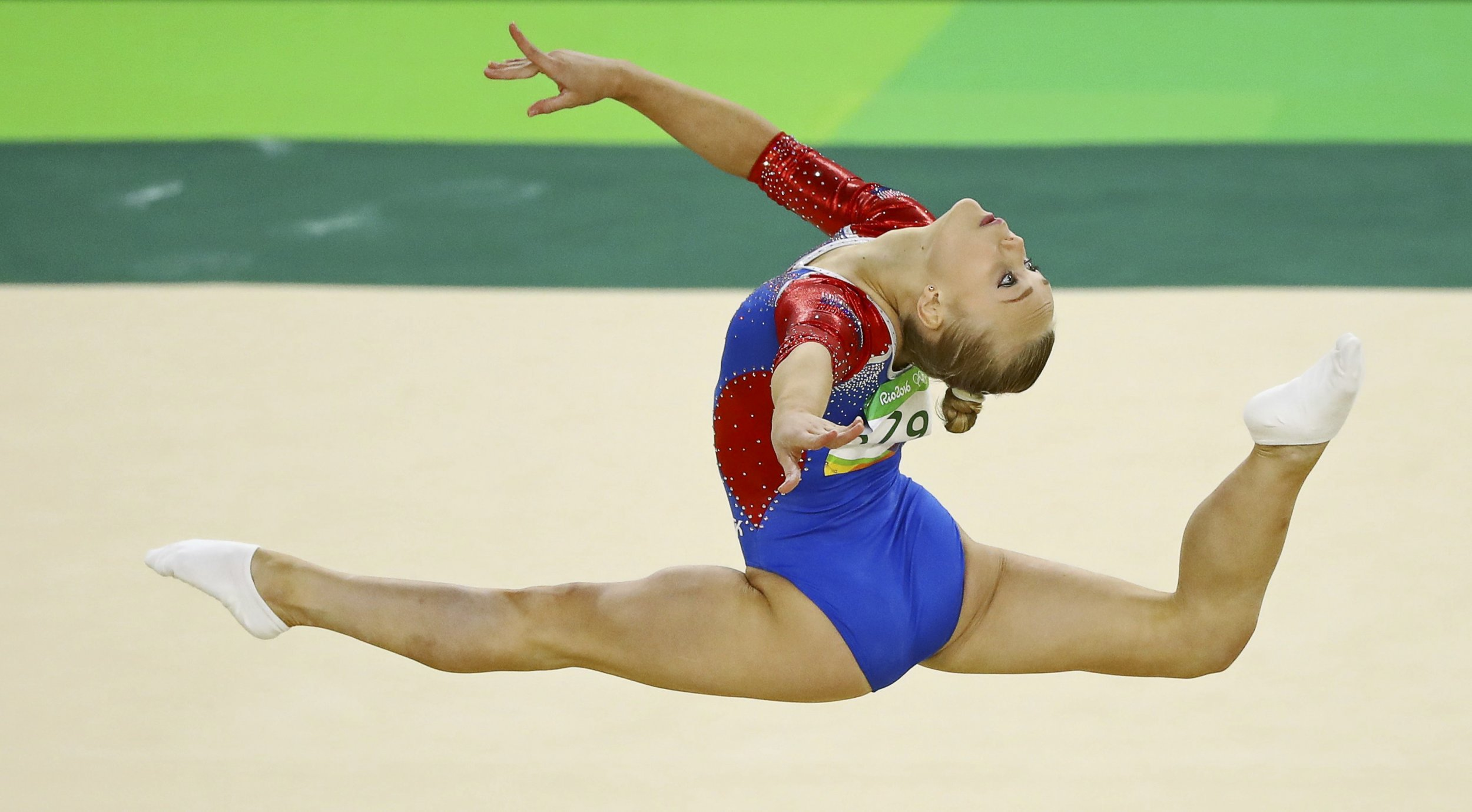 Russian Gymnast S Looks Targeted By Olympic Committee After