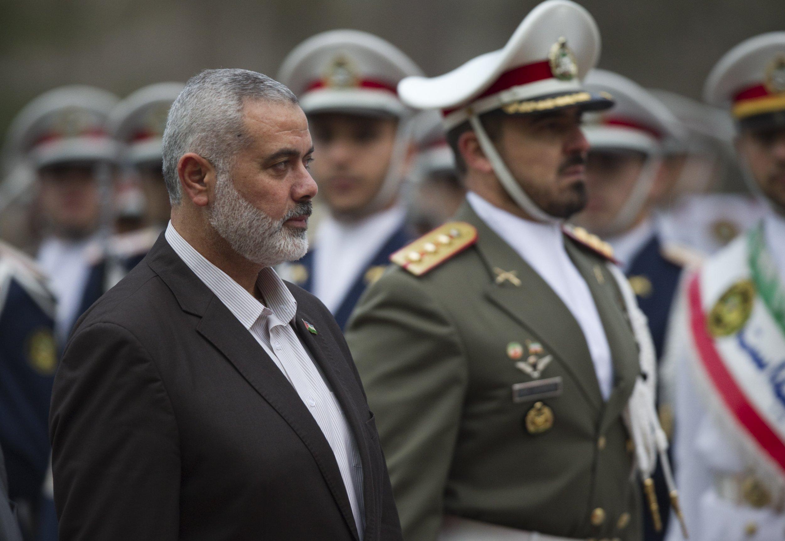Hamas' Ismail Haniyeh