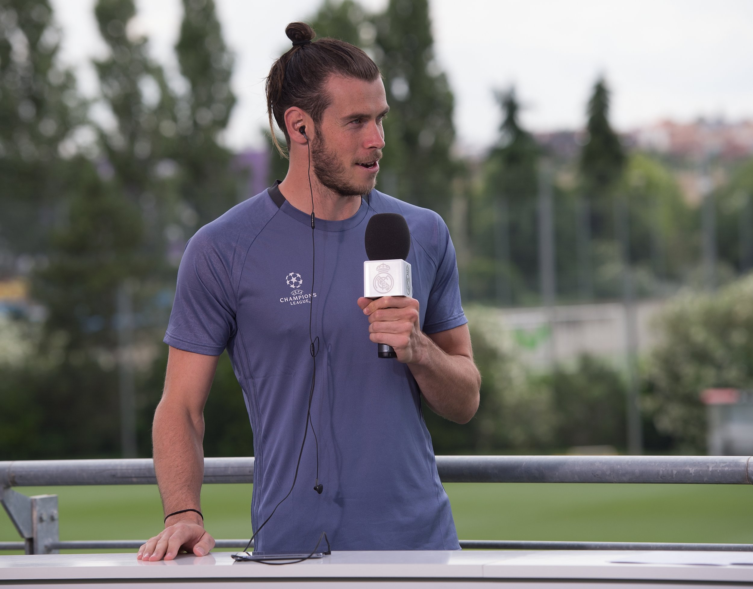 Gareth Bale of Real Madrid.