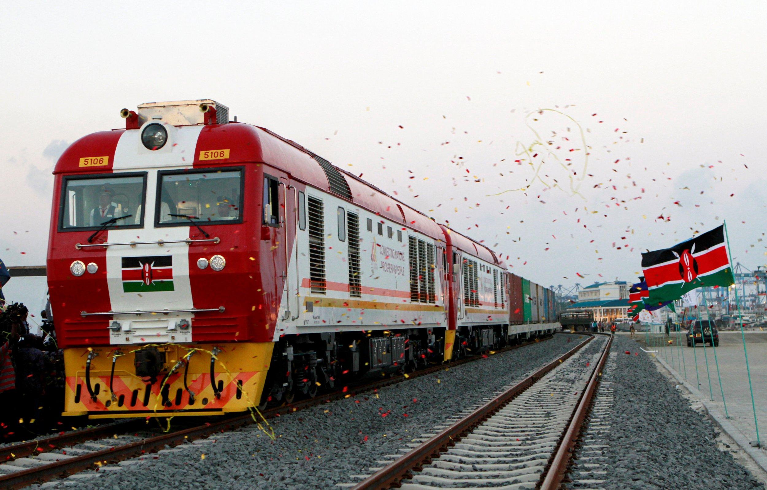 Kenya Madaraka railway