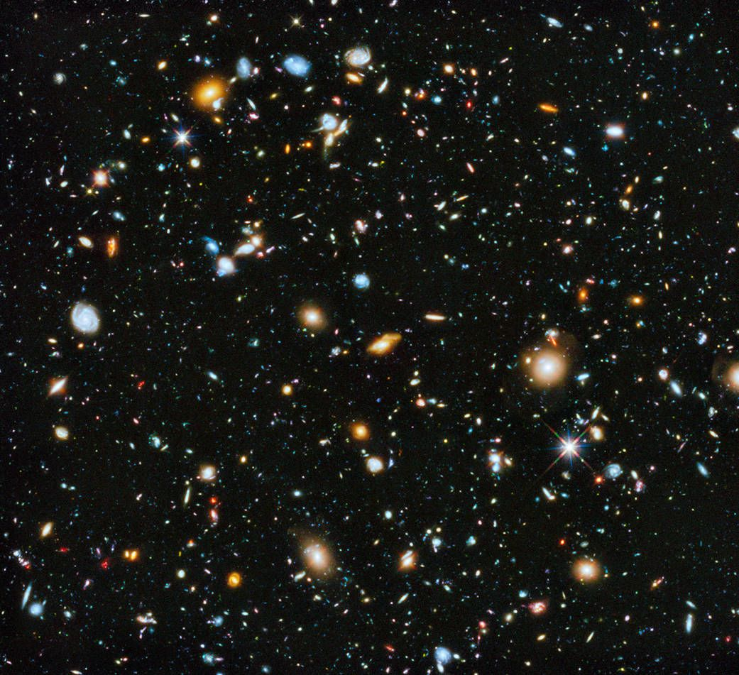 hubble universe