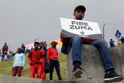 Zuma protesters