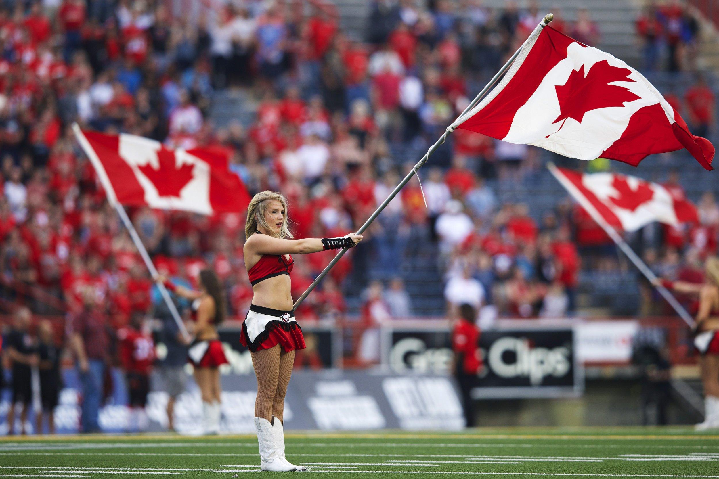 Canadian Cheerleader Anthem