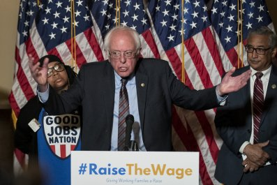 Bernie Sanders minimum wage