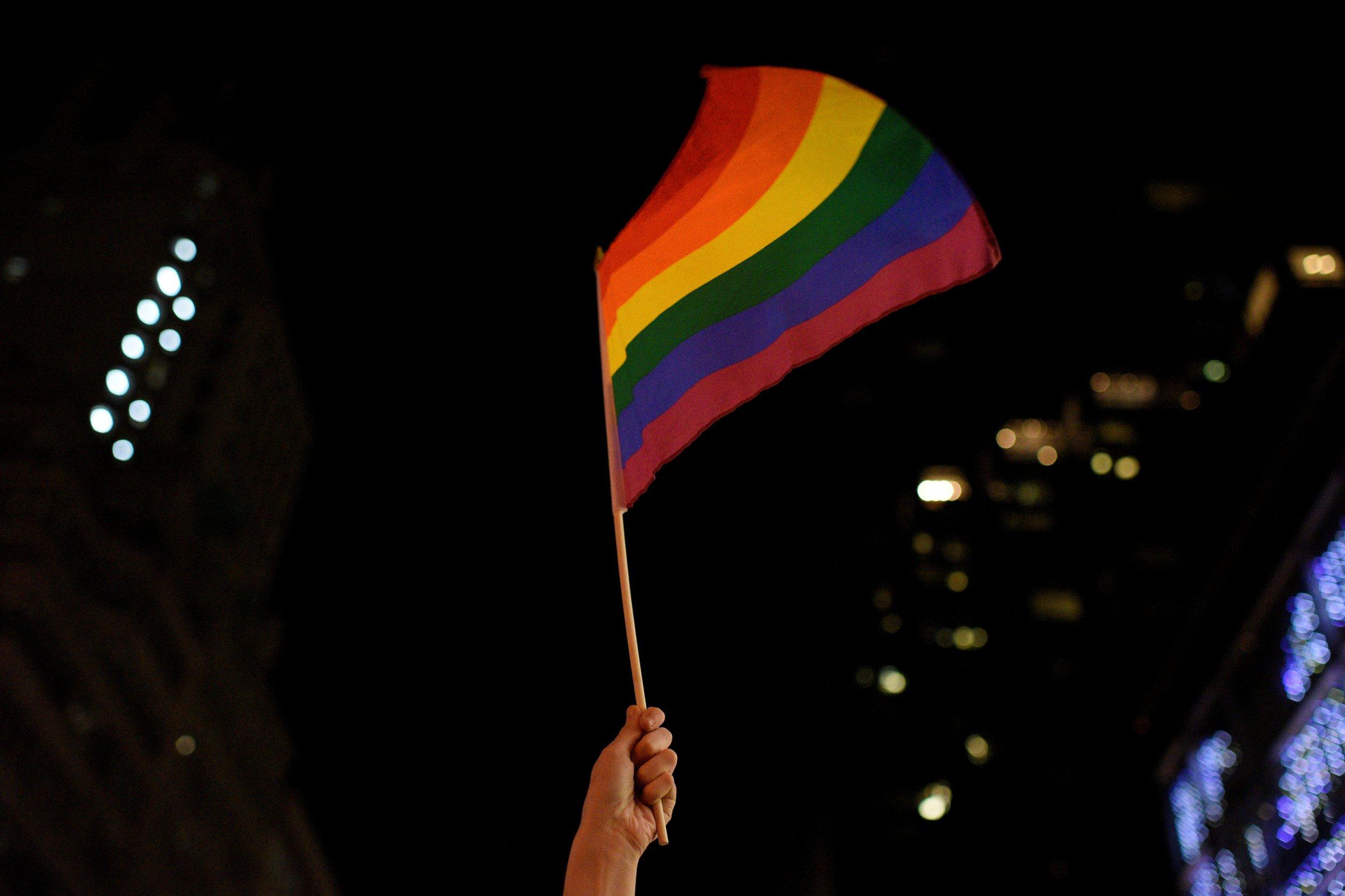 Rainbow flag, LGBT rights, Donald Trump