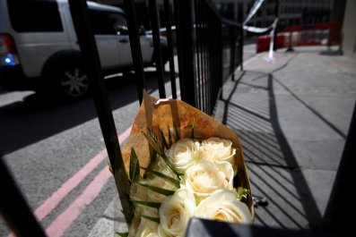 London attack flowers