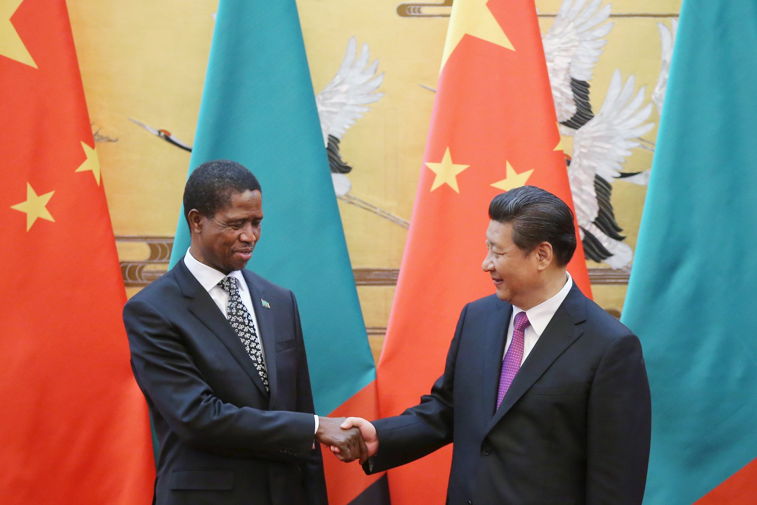 Zambia China leaders