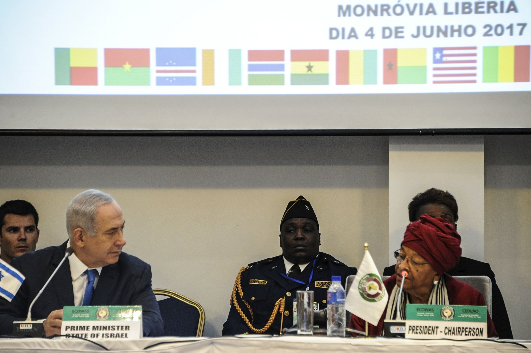 Netanyahu at ECOWAS summit