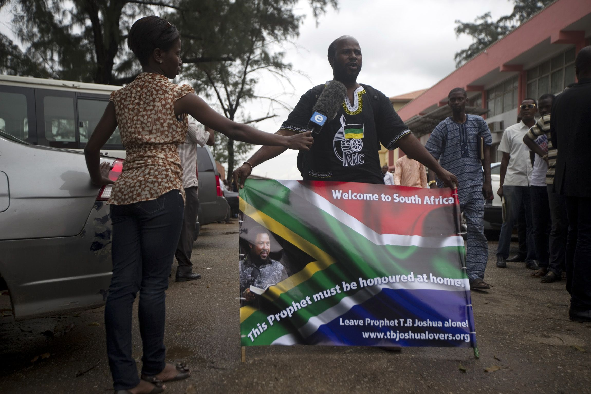 South African supporter of TB Joshua