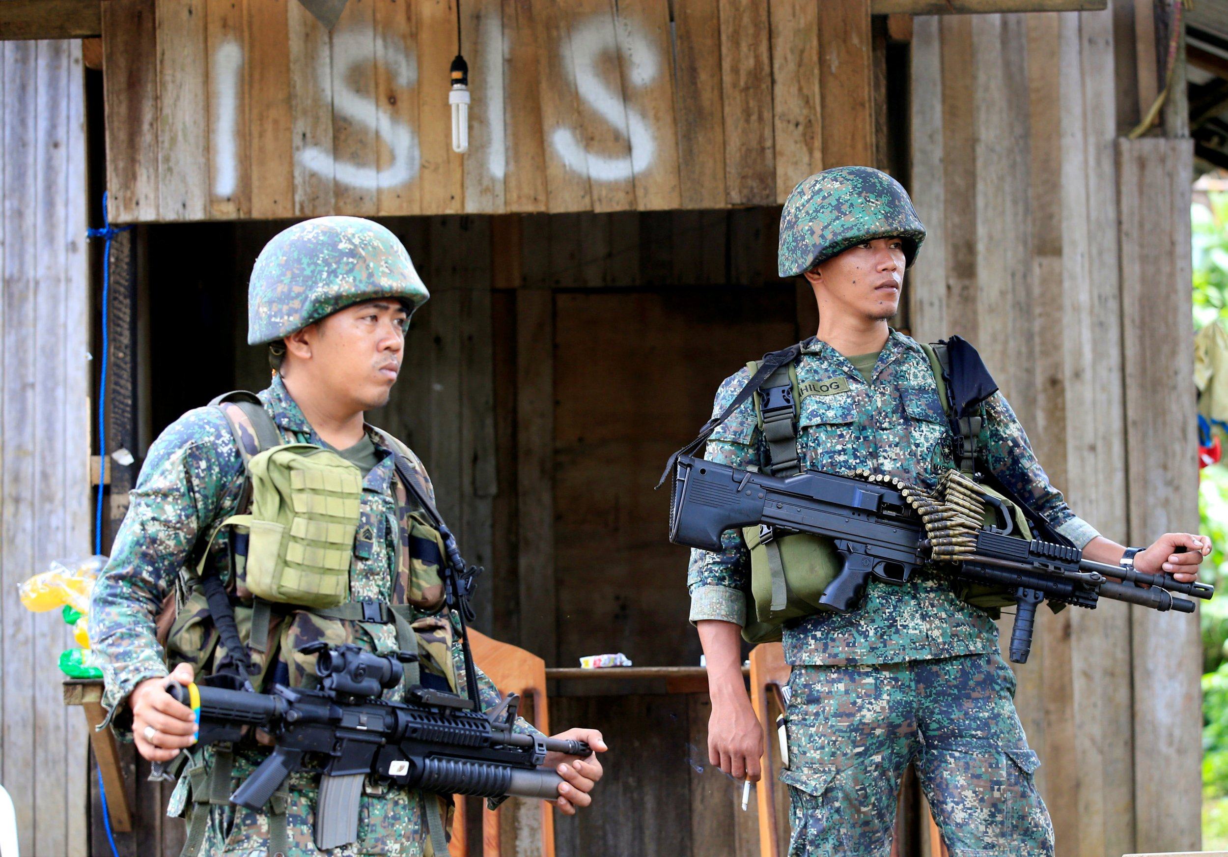 Soldiers in Marawi, Philippines