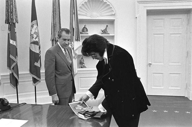Trump Follows Nixon Down the Rabbit Hole