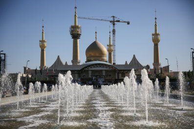 Iranian shrine