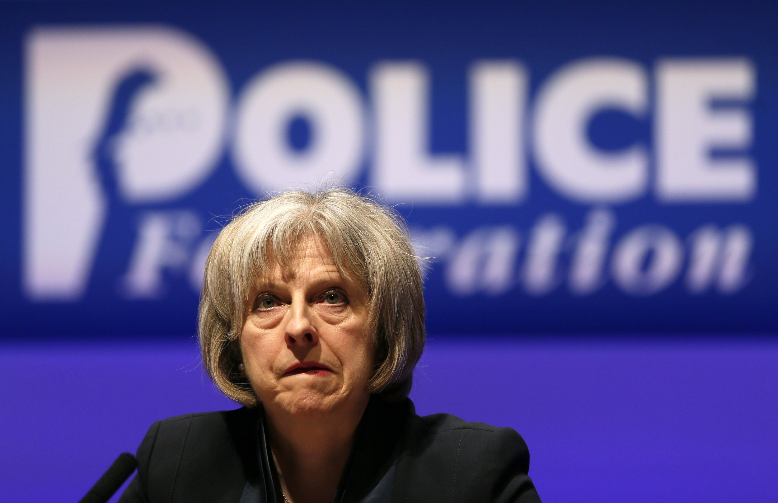 Theresa May police and counterterrorism funding cuts