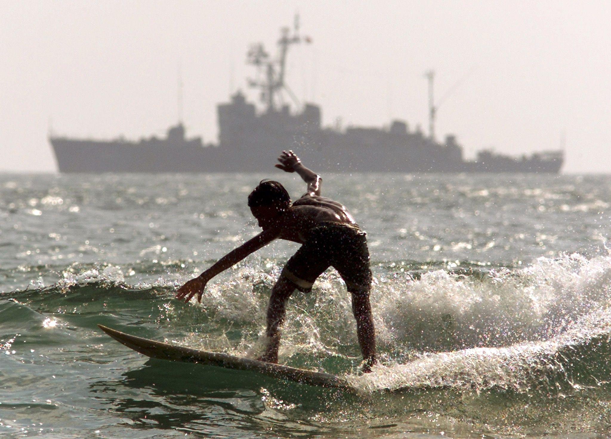 bali surfer