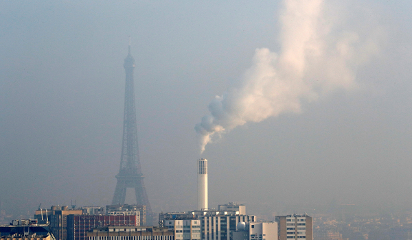 A French woman is suing Paris for air pollution