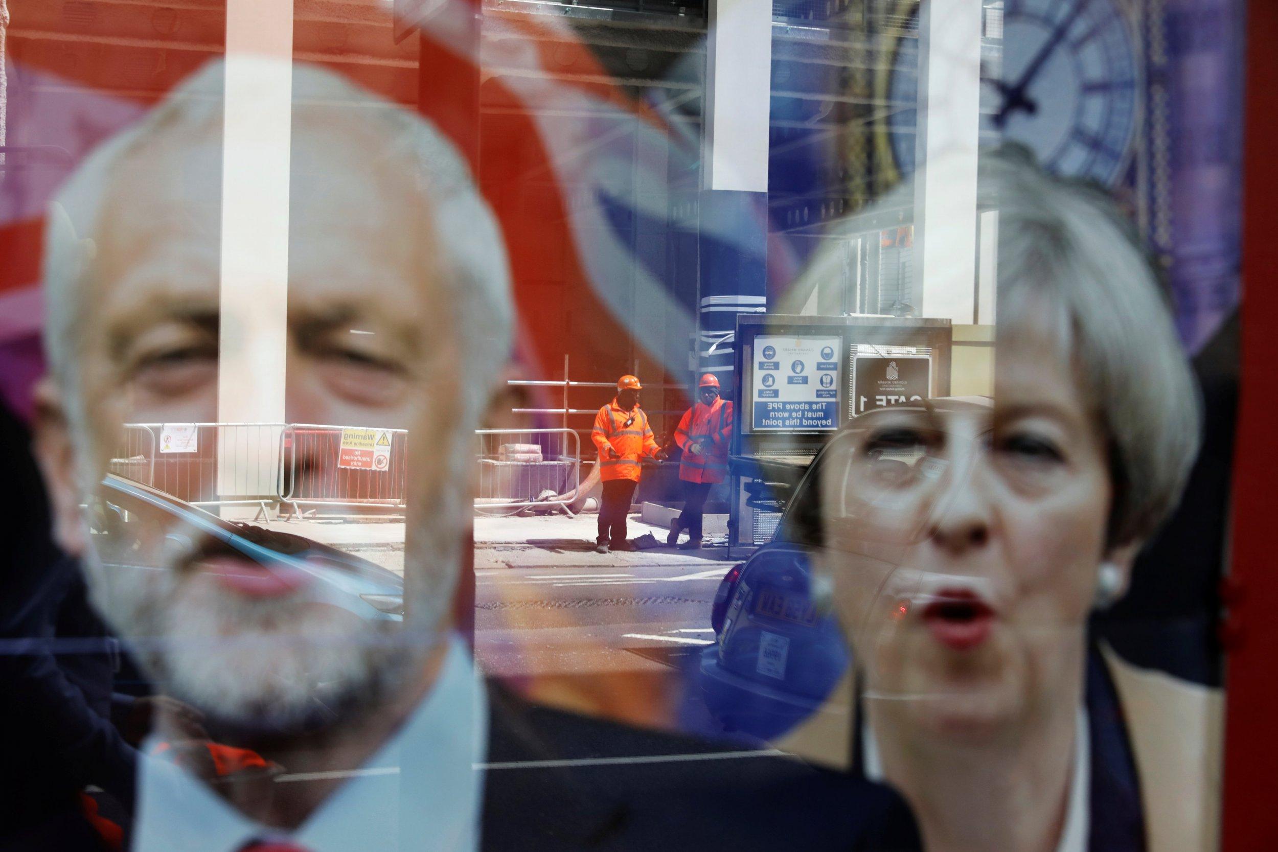 Theresa May/Jeremy Corbyn