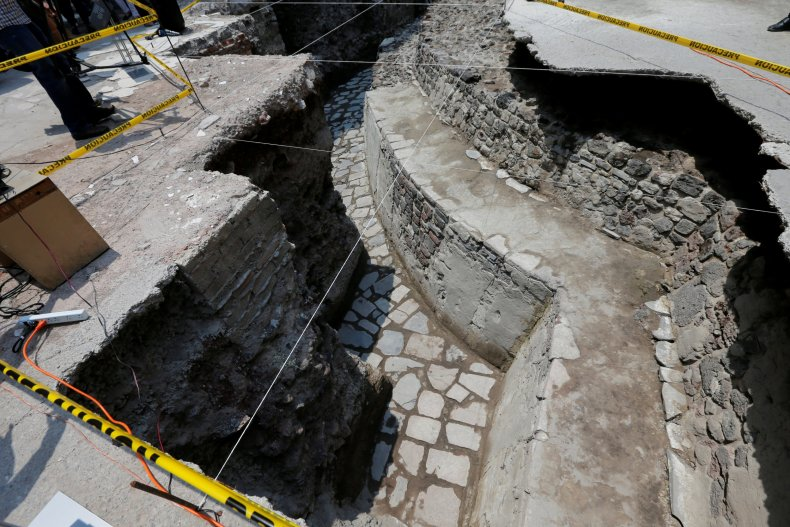 Aztec site Mexico City
