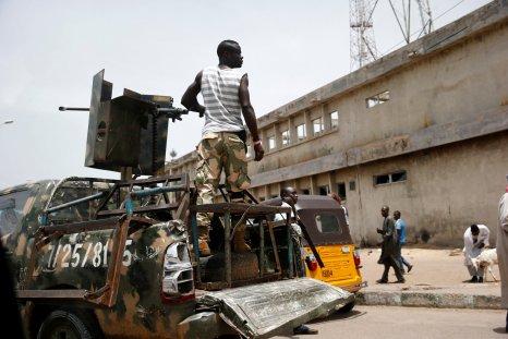 Nigerian soldier Maiduguri