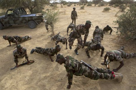 Nigerian soldiers on Flintlock