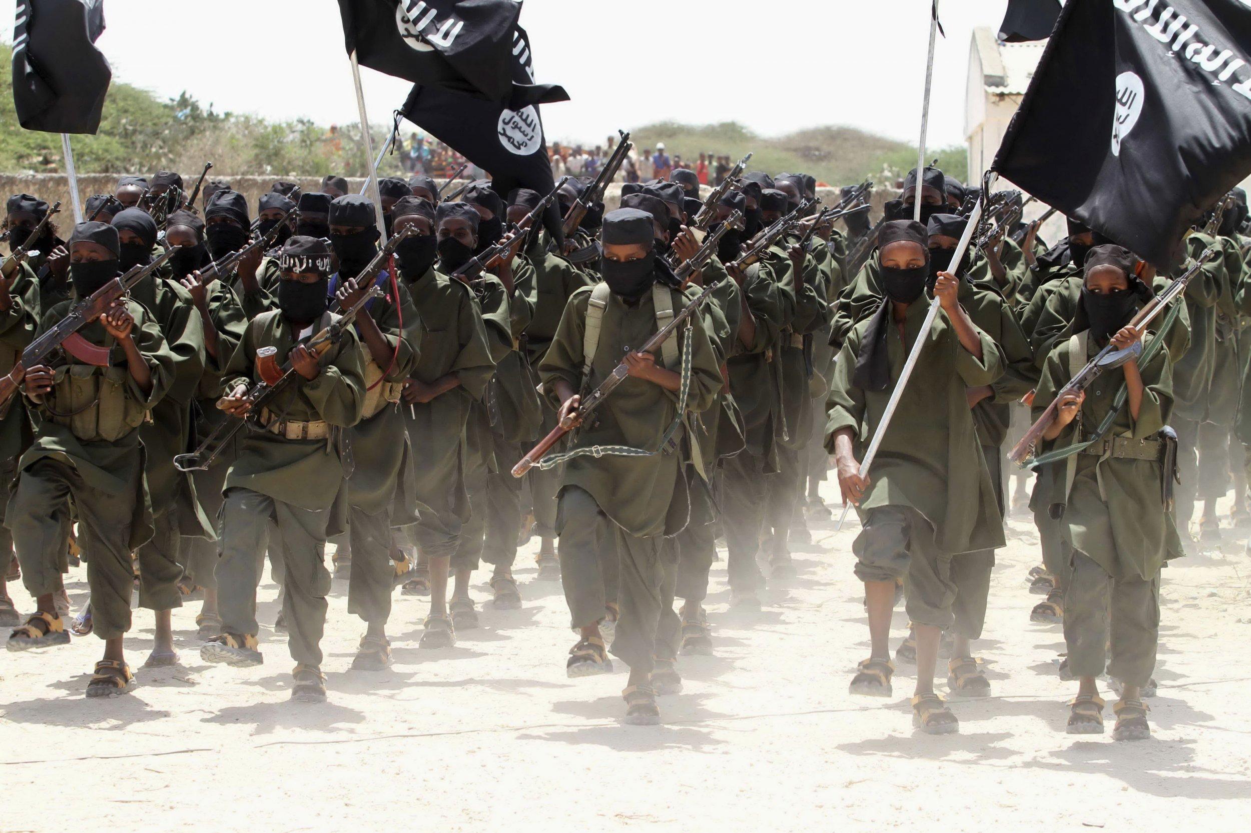 Al-Shabab recruits